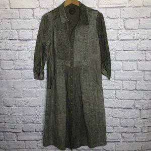 Zyga Lin'n Laundry 100% Linen Dress